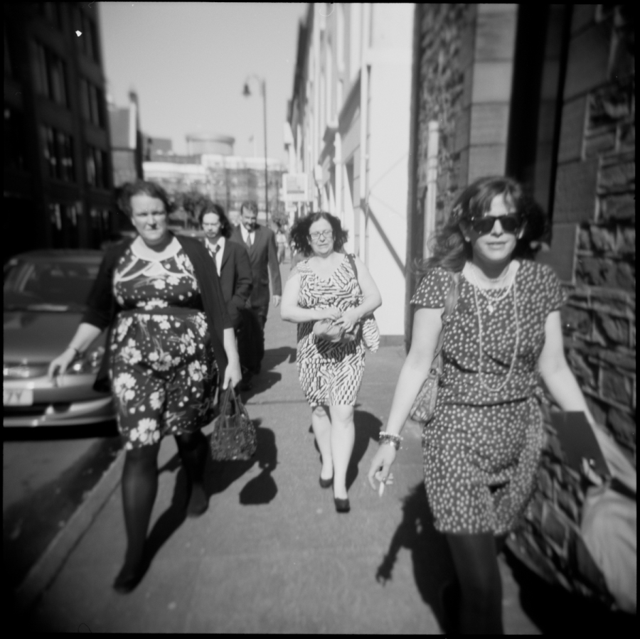 Wedding (Holga GCFN, Kodak Tri-X 400 film)